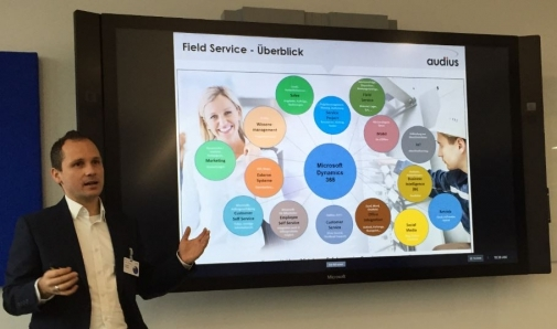 audius | Digitale Transformation im Service